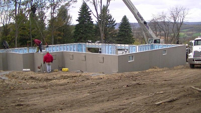 Superior Walls Madtes Construction