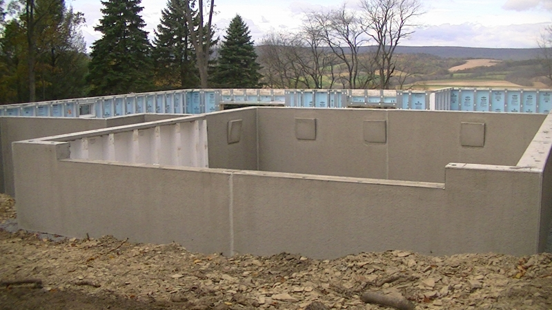 Superior walls madtes construction for Superior foundation walls